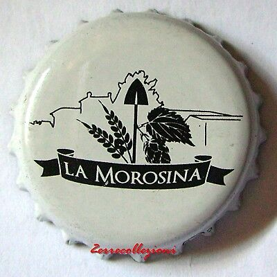 TAPPO BIRRIFICIO LA MOROSINA ITALIA crown  bottle caps kronkorken chapas