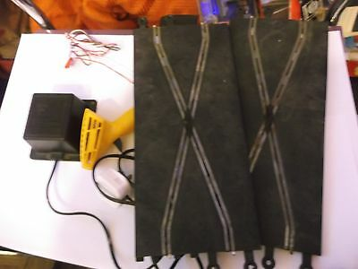 Scalextric Chicane Track And Power Supply Untested