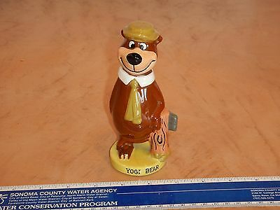 VINTAGE, ORIGINAL 1960s HANNA BARBERA YOGI BEAR CERAMIC FIGURINE  JAPAN