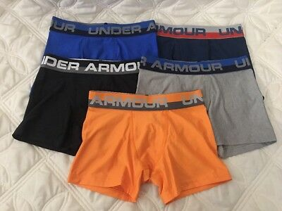 Under Armour Boys Heatgear Boxerjock Briefs. Lot of 5.. Size- Youth Small. #2