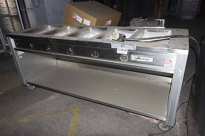 Serving Lot of (2) Precision 5-Well Server & Beverage Air Milk/Beverage Cooler