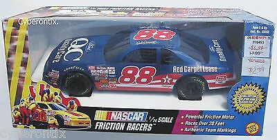 DALE JARRETT Rev-up Toy Car Friction Powered Racers Biz Kids Racing 1:24 NEW