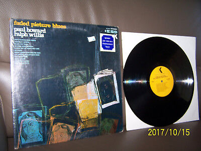 Paul Howard & Ralph Willis LP Faded Picture Blues