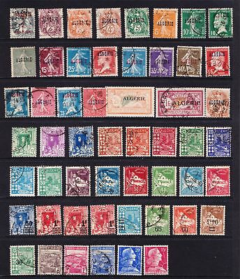 Algeria - Selection of earlier used stamps  - (495)