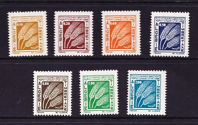 Algeria 1972 Postage Due Stamps - Wheat - MNH set  - (511)