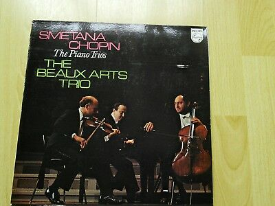 smetana chopin piano trios beaux arts SAL 6500 133 ,Ex / Mint