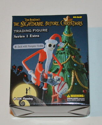 The Nightmare Before Christmas Trading Figure S1 Extra Jack with Vampire Teddy