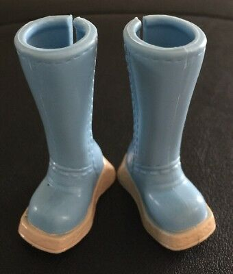 Barbie My Scene Doll Clothes Pale Blue Fashion Boots