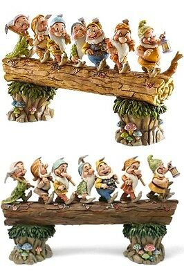 Disney Traditions Snow White and the Seven Dwarfs Homeward Bound Statue New