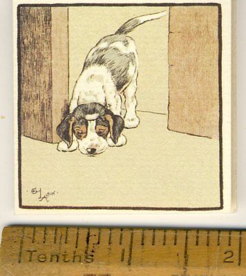 Small Opening Card Illustrated By Cecil Aldin By Gallery Five