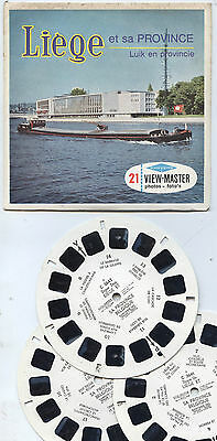Viewmaster 'LIEGE et sa Province' Set OLD VGC View Master
