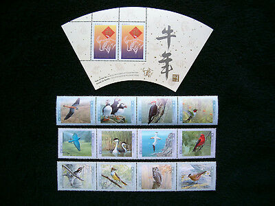 Canada, 1953-98 Stamps/Strips/Sheets/Mini Panes MNH