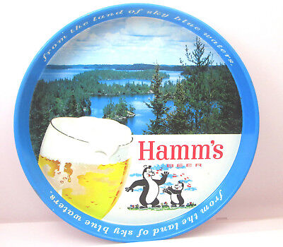 Hamm's Beer Serving Tray- from the land of sky blue waters Vintage