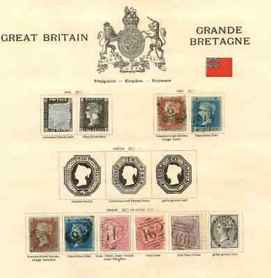 GREAT BRITAIN FIRST ISSUES COLLECTION LOT $500+ MOUNTED 99c NO RESERVE
