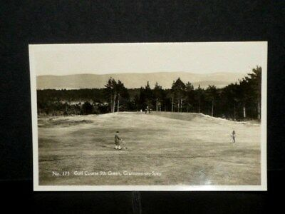 GOLF Course - 9th Green Grantown - on - Spey r/p
