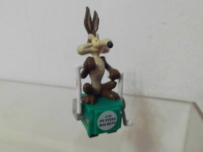 Bugs Bunny Looney Tunes Figur Applause 1994: Coyote auf Draisine