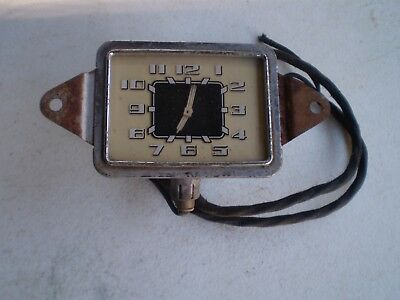 1936 Buick Glove Box Clock Clean Original