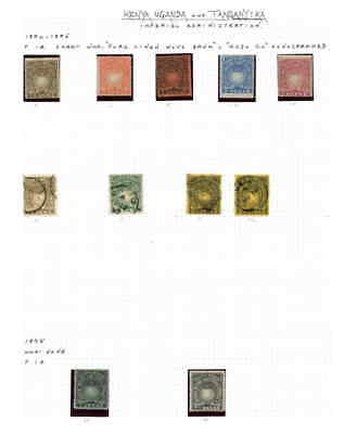 BRITISH EAST AFRICA COLLECTION LOT MOUNTED $$$$$$$ 99c NO RESERVE