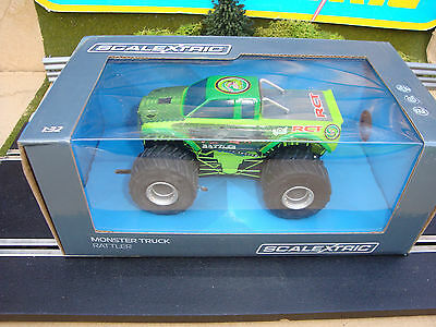 C3711 New Boxed Scalextric Monster Truck, Great Fun - Loads More Cars 4 Sale
