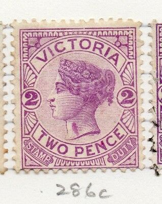 AUSTRALIA VICTORIA 1886-1900 Early Issue Fine Mint Hinged 2d. 195274