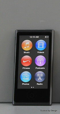 """**USED** Apple iPod Nano 7th Generation 2.5"""" 16GB Space Gray A1446 MKN52VC/A"""