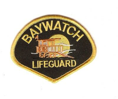 + BAYWATCH Aufnäher Patch  BAYWATCH LIFEGUARD 2