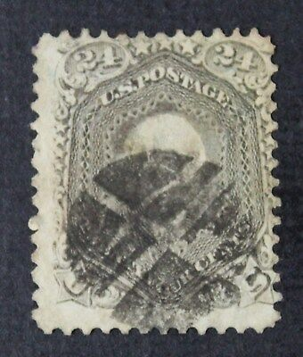 CKStamps: US Stamps Collection Scott#78 24c Washington Used CV$350
