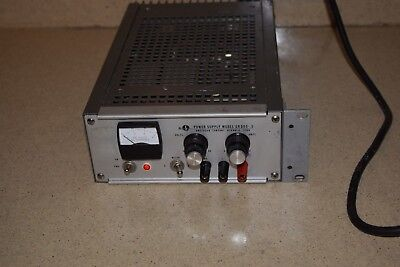 Sorensen Model # Qrd60-.5 0-60V 0-.5A Power Supply
