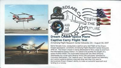 2017 DREAM CHASER Spaceplane Captive Carry Tests Edwards 30 August