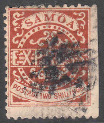 SAMOA 7a RED BROWN CANCEL F SOUND $750 SCV 99c NO RESERVE