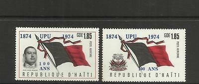 Haiti ~ 1974 Centenary Of The U.p.u. ~ Air Mail (Set)
