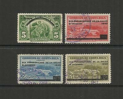 Costa Rica ~ 1940 Pan-American Health Day ( Part Set)