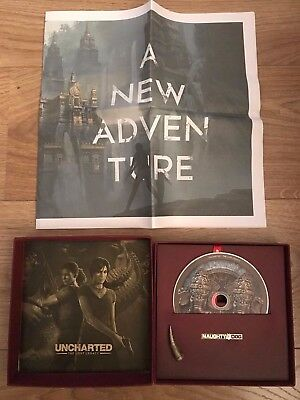Uncharted the Lost Legacy press kit rare and limited edition PS4 NEW