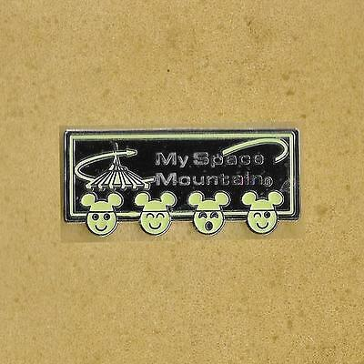 The World Disney My Space Mountain Old Pin