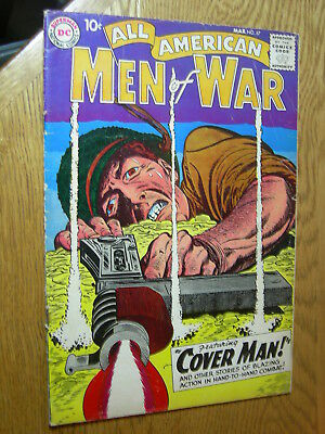 All American Men of War #67 VG- first Gunner and Sarge
