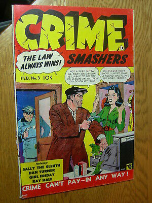 Crime Smashers #3 VG the law always wins