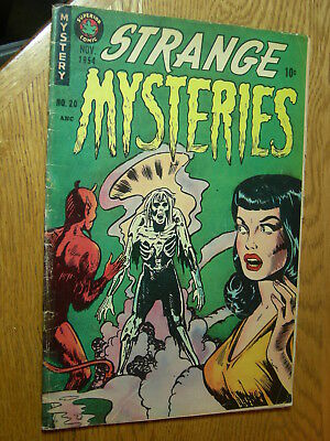 Strange Mysteries #20 g Superior Horror GGA zombies and devils