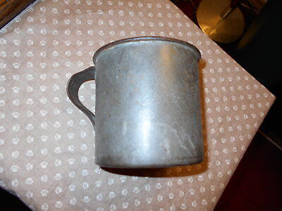 WWI U.S. Tin Cup dated 1903 R.I.A.