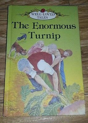 Ladybird Book - Well Loved Tales - The Enormous Turnip - Series 606D