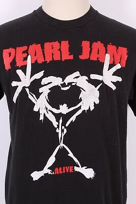 "Vtg 1992 Pearl Jam ""Alive"" Rock Tour T Shirt Usa Mens Size Xl"