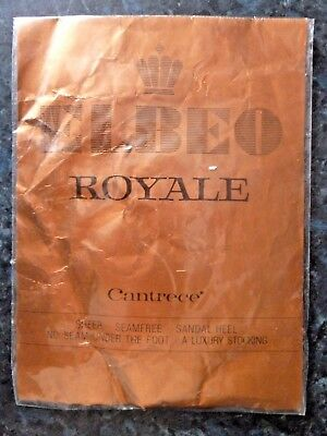Vintage Elbeo Royale Cantrece Sheer Stockings Tivoli Size Small