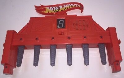 Hot Wheels Super 6 Lane Raceway Playset Finish Line