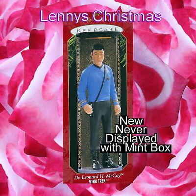 Hallmark Ornament, 1997 Dr. Leonard H. McCoy, Star Trek, New