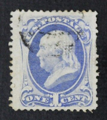CKStamps: US Stamps Collection Scott#134 1c Franklin Used CV$200