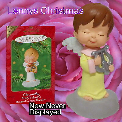 Hallmark Ornament, 2001 Chrysantha Repaint, Mary's Angels, New