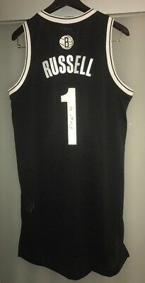 D'Angelo Russell Autograph Brooklyn Nets Signed Rev 30 Authentic Jersey JSA COA