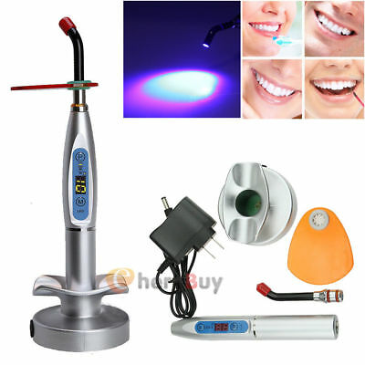 Dentist Dental Wireless Cordless LED Curing Light Lamp 10W 2000MW  US Shipping