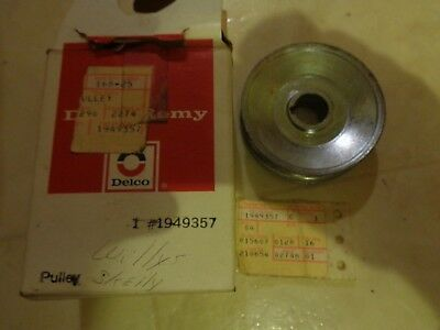 Delco Remy 1 Groove Standard Alternator Pulley #1949357