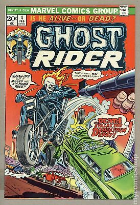 Ghost Rider (1973 1st Series) #4 VG 4.0