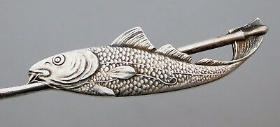 CAPE COD Sterling Silver FISH Souvenir Spoon Howard
